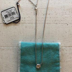 Elegant pave pendant